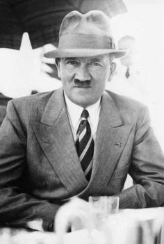 Adolf Hitler Imagine sitting across from this man.