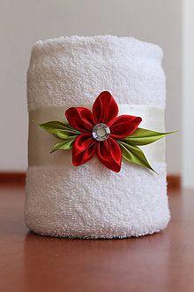 Dekorácie - ...červený kvet... - 5360055_