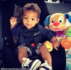 My future baby! My babies going to be mixed