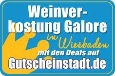Mit Glück günstiger zur #Weinverkostung in #Wiesbaden mit #Gutscheinstadt