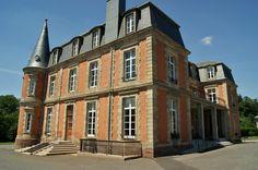Château des Carrieres à Niderviller. Lorraine