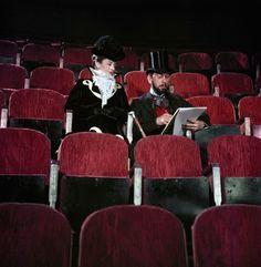 Jose Ferrer on the set at Shepperton Studios, UK, filming 'Moulin Rouge', 1952//Robert Capa