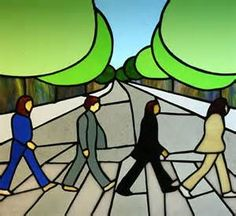 Stained Glass Abbey Road