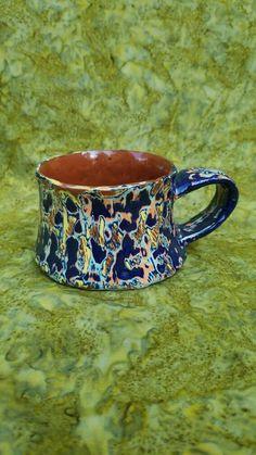 Acid wash mug