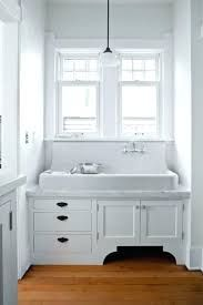 Image Result For Highback Farmhouse Sink With Window Vintage Kitchen Sink Bathroom Farmhouse Style Vintage Laundry Room