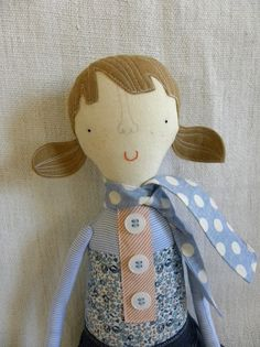 The dolls in this etsy shop are darling. #plush