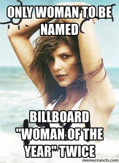 """Taylor Swift named Billboard """"Woman of the Year"""" for a second time."""
