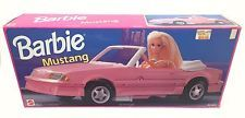 New Barbie Pink Mustang Vintage 1993 Arco 90's Convertible Car