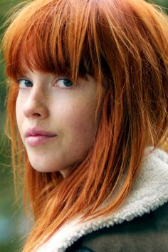 Natural beauty #hair #ginger