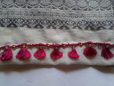 Saree tassels or Kuchu