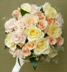 Stunning bouquet of 'alexandra' 'primadonna' and 'talea' roses created by Julie Meyer-Flowers Washougal