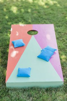 Cornhole: http://www.stylemepretty.com/living/2015/05/18/14-outdoor-party-games-for-your-next-spring-bash/