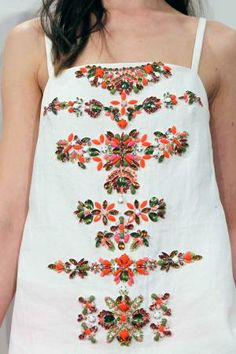 S/S 14 US retail: contemporary J.Crew Heavy Embellishment