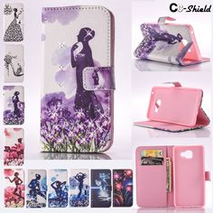 Painted Flip case for Samsung Galaxy A5 A 5 2016 A510 A510FD A510F/DS SM-A510 SM-A510F SM-A510f/ds SM-A510FD Case Phone cover