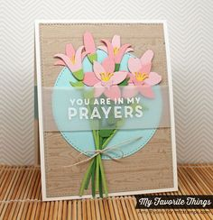Words of Inspiration, Wood Plank Background, Blueprints 13 Die-namics, Lily Die-namics, Stitched Circle STAX Die-namics - Amy Rysavy #mftstamps