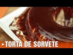 TORTA DE SORVETE - Receita de torta de sorvete (Episódio #82) - YouTube