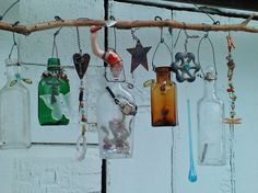 Bottle Chime-Time In the Garden