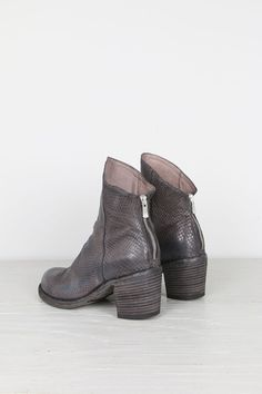 6031cd385fd Officine Creative Agnes 012 Bootie - Exotic Magnete on
