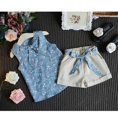 Menina Roupa do bebê Moda Meninas Dos Desenhos Animados Verão Conjunto de Roupas de Bebê Se Adapte Às Crianças T Shirt + Calças Crianças Conjunto de Roupas