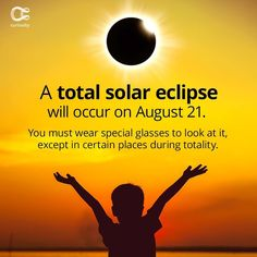 You won't want to miss it. Seriously. Check out the full article on Curiosity.com and in the Curiosity app! #eclipse #solareclipse2017 #august21 #totalsolareclipse #amazing #space #curiosity Discovery Channel Shows, Solar Eclipse 2017, Looking Up, Curiosity, Science, Reading, Manual, App, Spaces