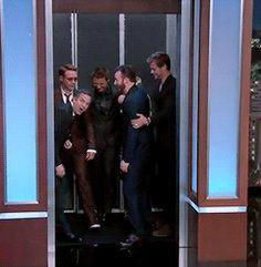 Avengers on Jimmy Kimmel