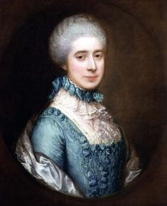 Portrait of Mrs. Awse - Gainsborough Thomas