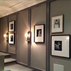 #theatre room #gallerywall #custom #framing #art #design #glucksteindesign #tonykoukos