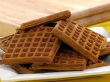 Pumpkin and Ginger Waffles. Rachael Ray did a good job of not skimping on spices in this recipe. Made them this morning for the kids...they are so so yummy :)