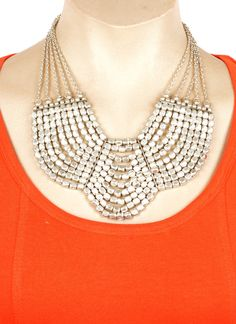 Tantalizing Silver Alloy Based Necklace  Order Now  #Artificialjewellery  #OnlineShopping