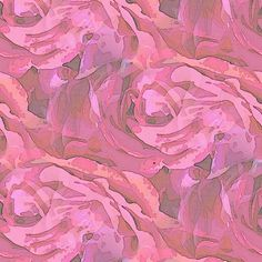 Aquarelle red roses fabric by vib on Spoonflower - custom fabric