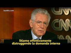 """Monti confessa: """"Stiamo distruggendo la domanda interna""""...  non è ammissione di colpa da parte di Monti & company, ma l'ammissione dell'aver fatto bene i compiti a casa , compito richiestogli da EU BCE FMI E Merkel  e dalle élite private della globalizzazione, il famoso 1% che schiaccia il 99% che siamo noi tutti...  mentre loro si fanno beffa di noi con lauti stipendi noi muoriamo sotto la pressione fiscal"""