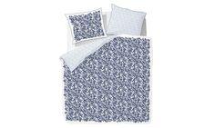 Marc O'Polo Home Blue Flowers Mako-Satin Bettwäsche Blue | perfekt-schlafen.de #perfektschlafen.de #marcopolo #marcopolohome #schlafzimmer #bettwäsche