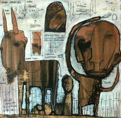 jesse reno,art brut,outsider,visionary,folk art,art singulier,painting