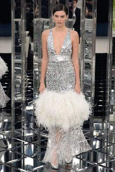 Kendall Jenner Chanel Spring 2017 Couture Collection Photos - Vogue