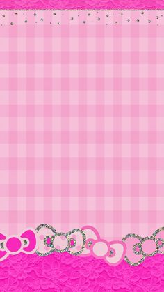 PINK BOWS IPHONE WALLPAPER BACKGROUND