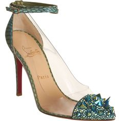 Christian Louboutin  Just Picks  $1,995.00  BUY SHOES, HELP KIDS: RECEIVE A 10% DISCOUNT ON ANY MENS OR WOMENS DESIGNER SHOE PURCHASE WITH CODE BNYUNICEF AND BARNEYS NEW YORK WILL DONATE 10% OF SALES TO THE U.S. FUND FOR UNICEF