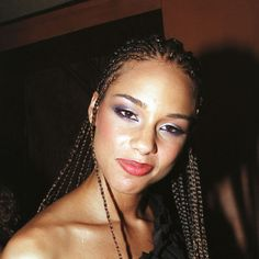 2001 Alicia Keys Courtesy of Getty Images. -Wmag