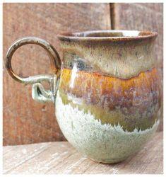 Idea: Seafoam green, tenmoku gold, butter Stone Pillow Pottery - Cups Mugs click the image or link for more info. Idea: Seafoam green, tenmoku gold, butter Stone Pillow Pottery - Cups Mugs click the image or link for more info. Thrown Pottery, Pottery Mugs, Ceramic Pottery, Glazed Pottery, Slab Pottery, Pottery Wheel, Ceramic Studio, Ceramic Clay, Porcelain Ceramic