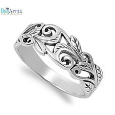 Thin Backed For Comfort Artist Made Factory Direct Selling Price .925 Smooth Sterling Silver Ring Size 10.5