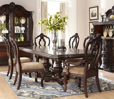 meredith collection 103531 espresso formal dining table set. table, Esstisch ideennn