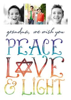 Beautiful Blessing - Hanukkah Greeting Cards in Calypso | Magnolia Press