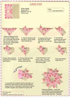 Tea Bag Folding Paper - Google Search
