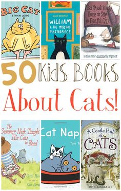 Cat books for kids and toddlers! How cute? It's great finding themed kids story�