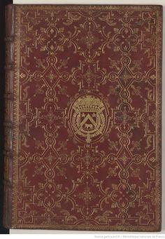 Le Rommant de la Rose / par Guillaume de Lorris et Jean de Meung Old Books, Vintage Books, Books To Read, Precious Book, Book Cover Art, Book Covers, Roman, Medieval Manuscript, Bnf