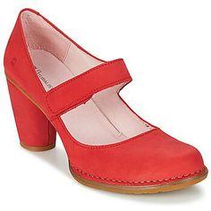 Onderweg... mijn nieuwe rode El Naturalista's Pumps, Heels, Heeled Mules, Platform, Fashion, Heel, Moda, Fashion Styles, Pumps Heels
