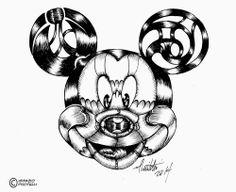 millevignette di ignazio piscitelli: Mickey Mouse