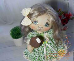 Купить Фаечка. Текстильная кукла.Авторская кукла. Интерьерная кукла - текстильная кукла, авторская кукла