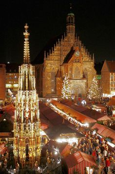 Christmas Market, Nuremberg, Germany
