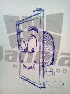 mascote janela