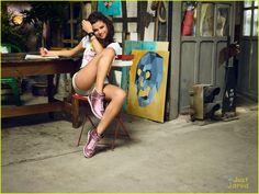 Selena Gomez Takes Selfies For Adidas NEO Summer Collection Campaign! | selena gomez adidas neo summer campaign 05 - Photo